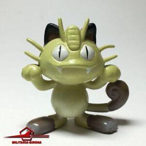 Pokemon Normal Type: Meowth (Niyahsu) PVC Figure 4cm. NINTENDO AULDEY TOMY CHINA