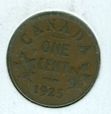 CANADA 1925 SMALL CENT--CIRCULATED