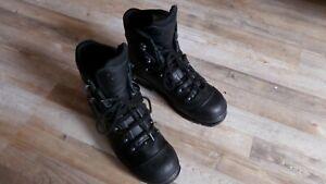 HAIX Stiefel Schuhe Kampf Einsatzstiefel Security Schuhe + Tuch