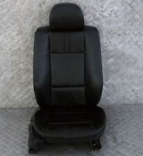 BMW X3 Series E83 Black Leather Front Right O/S Seat Ambiente