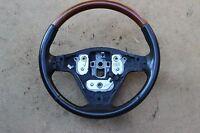 03 04 05 06 07 Cadillac CTS OEM Steering Wheel - Grey Leather & Woodgrain