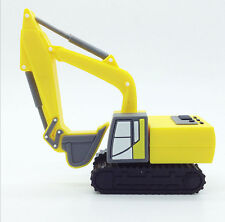 Yellow Excavator Digger Car Novelty 16GB USB Memory Stick Flash Drive Gift