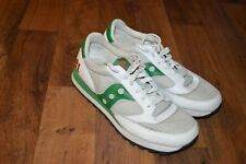 Vintage 1993 RARE SAMPLE SAUCONY Jazz Mens 9 1993 Casual Lace Up Shoes White