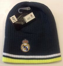 Real Madrid FC Beanie Winter Hat Cap New W Tags Snow Style Solid 273e21d3278
