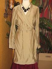 ANNE KLEIN NWT $139 16 CORDOBA women's dress khaki beige