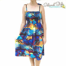 Knee-Length Machine Washable Floral Dresses for Women