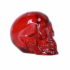 "2"" Translucent Red Clear Skull Head Bust Figurine Figure Cool Project Idea"