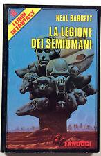 Barrett La legione del semiumani Fanucci libri fantasy n. 19 1987 prima edizione