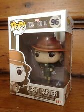 FUNKO POP! Marvel Agent Carter Sepia Tone #96 Amazon Exclusive Vinyl Figure NEW
