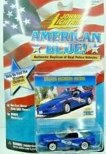 Johnny Lightning American Blue Chevy Camaro Nevada Hwy Patrol Police Car NIP