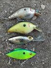 Vintage Lures Lot of 4,Storm Lures,Freshwater Lures,Vintage Lures