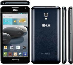 LG Optimus F6 D500 - 4GB - Black (T-Mobile) Smartphone