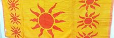 Orange yellow 100%  cotton super long soft  towels hand bath towel sheet #936