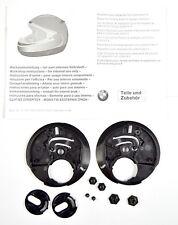 Nuevo Genuino BMW Kit de Reparación de placa de retención para casco de sistema 4, parte # 72607661584