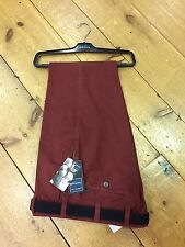 Bruhl Brushed Pima Cotton CHESTER Regular Fit Trousers/Rust - 50/32