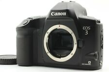 【 TOP MINT 】 Canon EOS-3 Black 35mm SLR Film Camera Body Only From Japan