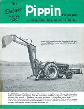 Equipment Brochure - Pippin - 120 Excavator for Ih 300 400 Tractor (E5445)