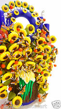Flowers Butterflies Handcrafted Tree of Life/ Arbol de la Vida/Mexican Folk Art