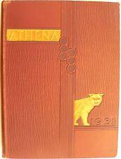 1931 yearbook The Athena Ohio University Athens Ohio college history nostagia