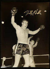 New Billy Walker Boxing Signed 12x16 Photograph : C