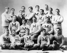 Photo.  1890 - 91. University of Michigan Football Team