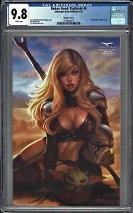 Robyn Hood Vigilante #6 CGC 9.8 SUN KHAMUNAKI May the 4th Variant MANDALORIAN
