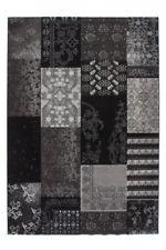 Tapis noir à motif Floral modernes pour la maison