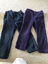 Pair Of Jojo Maman Bebe Iight Cord Trousers 2-3 Years