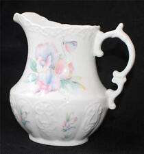 "Vintage AYNSLEY Fine England Bone China LITTLE SWEETHEART Pattern 6""h Pitcher"