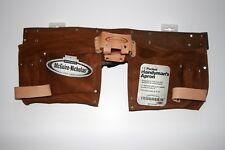 McGUIRE-NICHOLAS 11 Pocket Handyman Apron Tool Belt Pouch Leather Model #1499