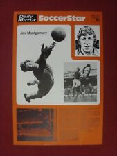 circa 1970's Daily Mirror: SoccerStar - No.04 Jim Montgomery, North East Collect