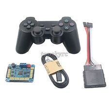 32 Channel Servo Control Board & PS2 Handle Controller & Receiver for RC Robot