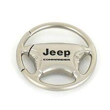 Jeep Commander Steering Wheel Keychain