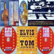 KING ELVIS PRESLEY & SIR TOM JONES + BEATLES RnR BIG 3 MEGA-RARE 3 CD COLLECTION
