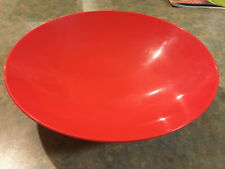 TUPPERWARE FLAVOURS OF THE ORIENT SALAD BOWL - 1.9 LITRE CAPACITY (RED)