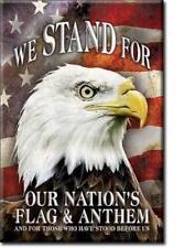 America Magnet Magnetschild Fahne Adler Amerika Reiseandenken original aus USA