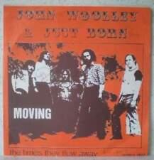 "JOHN WOOLLEY & JUST BORN Moving (LISTEN) RARE 7""1971 psych rock-pop-soul BELGIUM"
