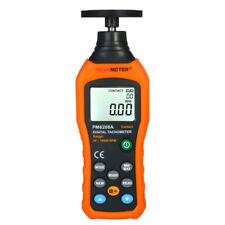 Peakmeter Digital Tachometer Handheld Lcd Wide Measuring Rang 5019999rpm