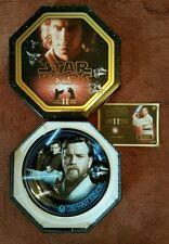 Star Wars Limited Edition Collectors Plate 'Obi-Wan Kenobi' from Cardsinc.com