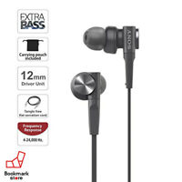 NEW SONY Black Color MDR-XB55 Bass Booster In-Ear Headphones from JAPAN