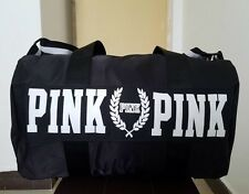Victoria's Secret Love Pink Duffel / Gym Bag - Black - Free Shipping
