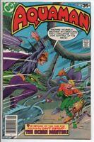 Aquaman #63 Sept. 1978 DC Comics VF- Movie Coming soon! Ocean Master! Last issue