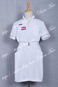 Batman Cosplay Joker White Nurse Costume Uniform Suit Halloween