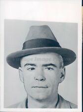 1945 Photo WW2 Photo Leo Quinn Dean Seattle WA Drunk Tank Court Room Man
