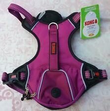 New listing New Kong Comfort+ Reflective Wastebag Dog Harness Purple, size Medium