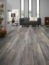 Krono Swiss Villa 4-V -12mm AC5 Laminate Floor - 12.9m2 Harbour Oak Grey 1204