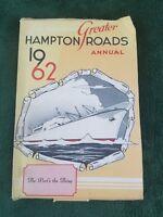 1962 Greater Hampton Roads Maritime Association Annual Advertising directory