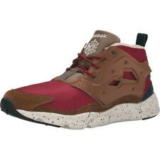 1a64c6c8f020 Mens Reebok Furylite Chukka Seasonal Outdoor Burgundy Khaki Navy V69969 US 8