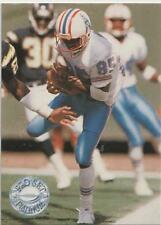 Drew Hill Oilers / Georgia Tech WR 1991 Pro Set Platinum Performer Card # 196