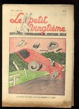 TINTIN LE PETIT TWENTIETH no.14 7 april 65531.5oz'île BLACK HERGé